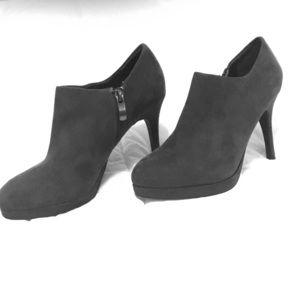Liz Claiborne grey suede shoes